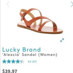 Lucky Brand Alexcia sandal size 8.5